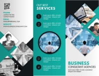 Business Service Product Information Brochure Flyer (US Letter) template
