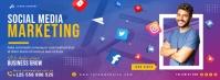 Business social media facebook cover template