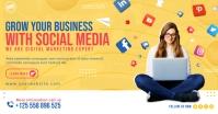 Business Social Media Facebook Shared Post Template