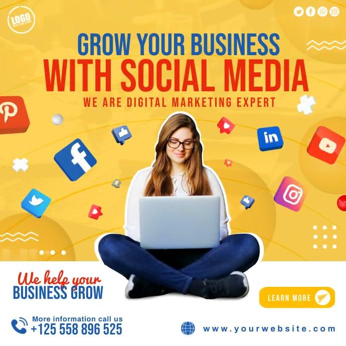 Business Social Media Instagram Post Banner template