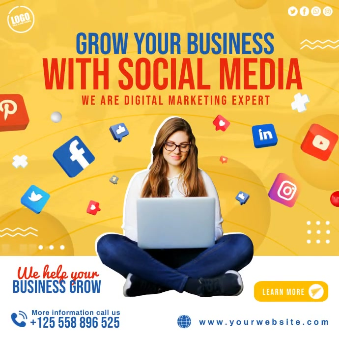 Business Social Media Instagram Post Template