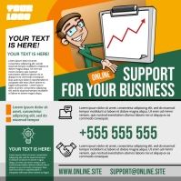 BUSINESS SUPPORT INSTAGRAM BANNER