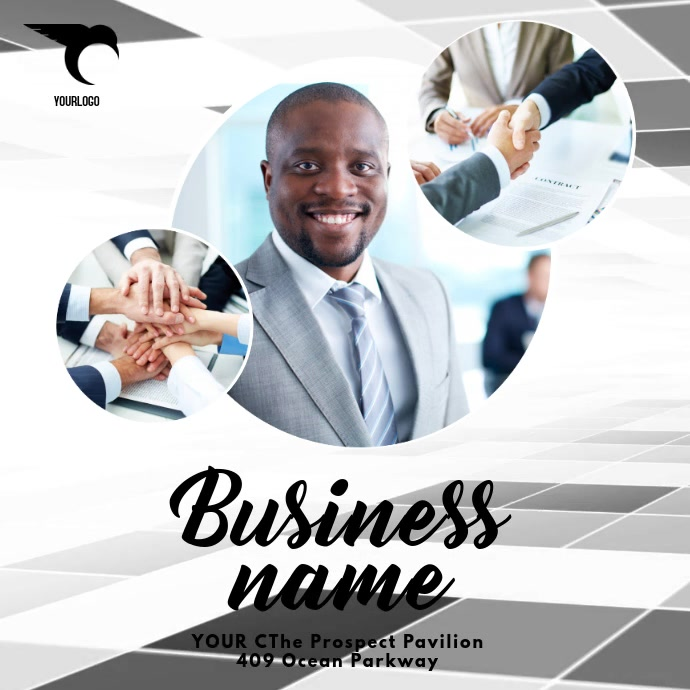 Business video ad template