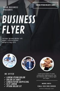 Business Video Design Template Affiche