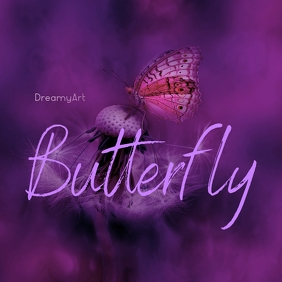 Butterfly CD Cover Art