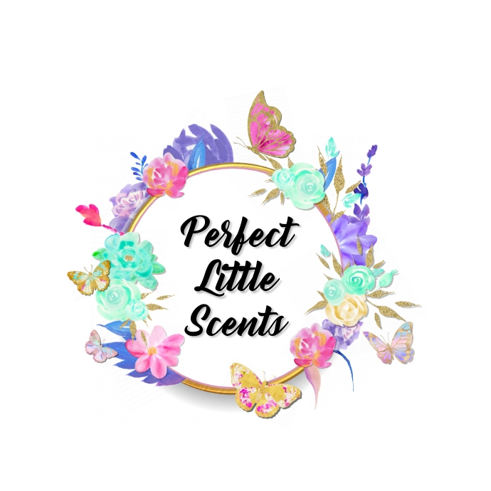 Butterflys Garden Scene Logo template