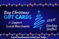 Buy Christmas Cards Cartaz template