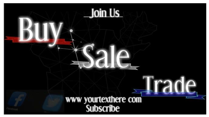 Buy sale trade template