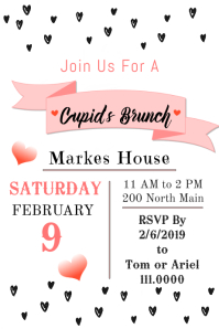 BW mini heart brunch