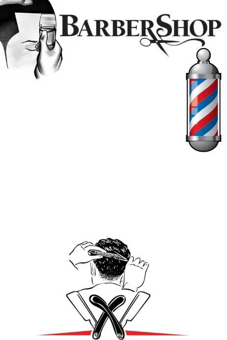 Barber Shop Plakat template