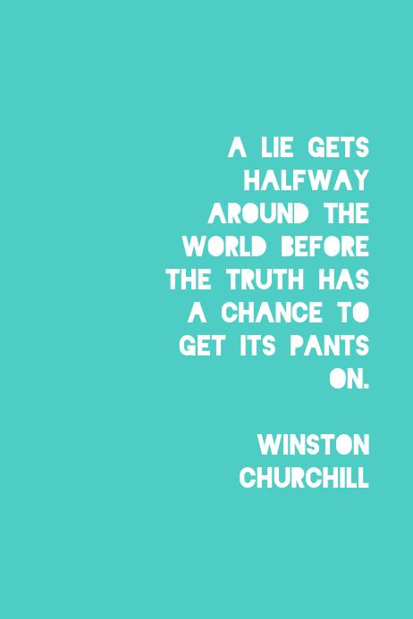 Lies-Winston Churchill