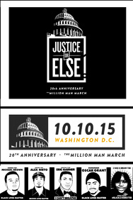 Justice Or Else Flyer - Black Lives Matter
