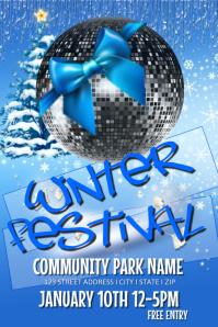 Winter Festival Event Template
