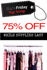 CLOTHES SALE Flyer - Customizable