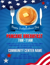 Presidents Day Ham Dinner Event Template