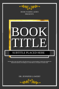 Customize 2,330+ Book Cover Templates | PosterMyWall