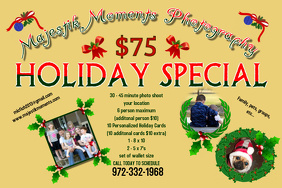 Photography Holiday Flyer
