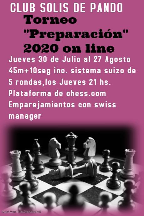 Preparación on line 2020