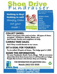 Shoe Drive Info Sheet