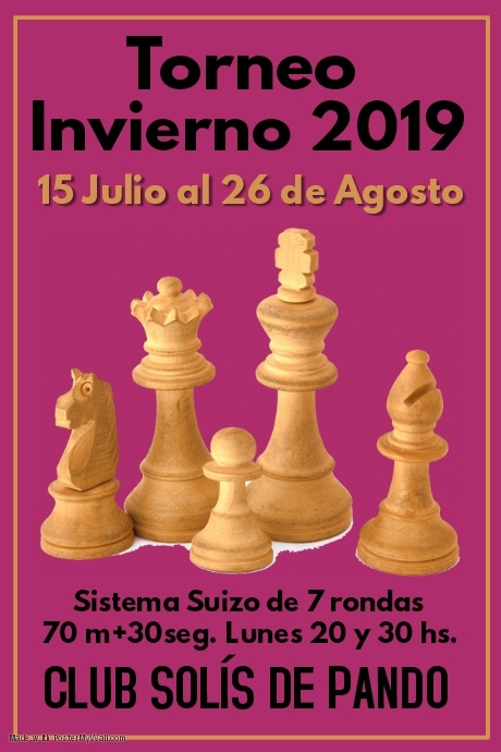 Copia de Chess Tournament Poster