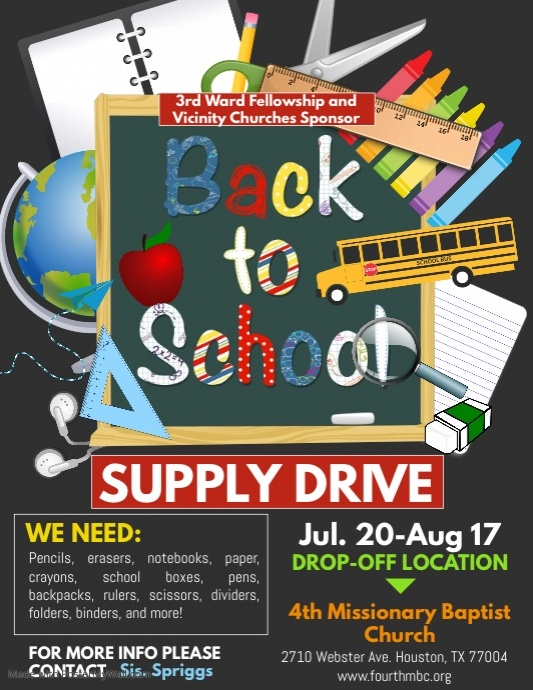Copy of Supply Drive