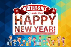New Year Winter Retail Sale