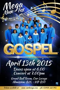 Gospel Concert Poster
