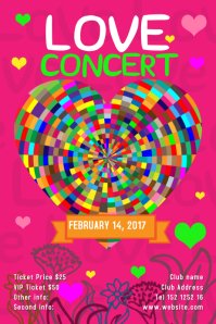 Psychedelic Concert Template