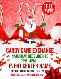 Candy Cane Exchange template
