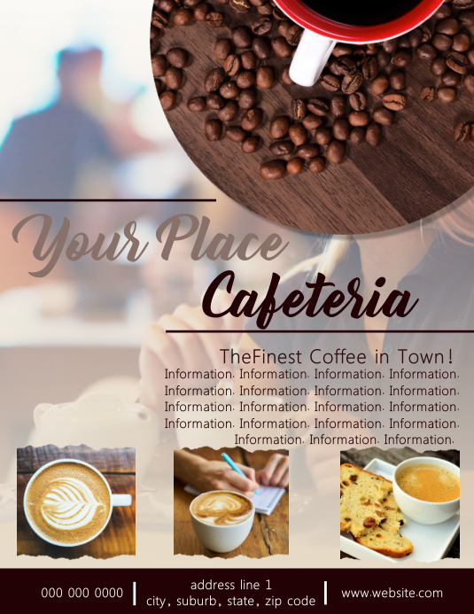 Cafe / Cafeteria Flyer Template