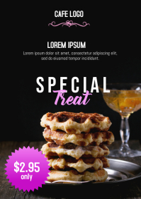 Cafe Special Treat Flyer