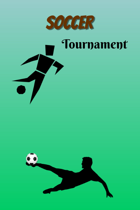 Soccer Tournament schedule