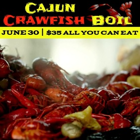 Cajun Crawfish Boil Video