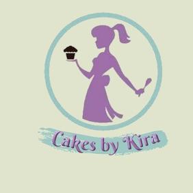 cake - bakery logo template