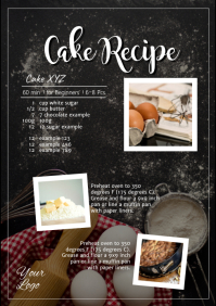 Cake Recipe Cooking Baking Food Sweets Blog