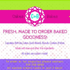 Cake Shop Instagram ad