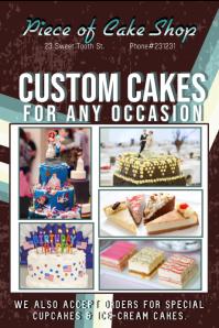 Cake shop template