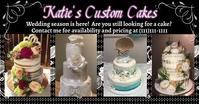 cakes Imagem partilhada do Facebook template
