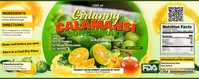 Calamansi Label Roll-up-Banner 2 x 5 Zoll template