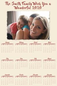 Calendar 2020 Photo Template