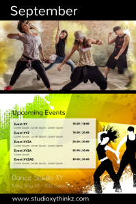 Calendar Events Upcoming Dance Zumba Ad