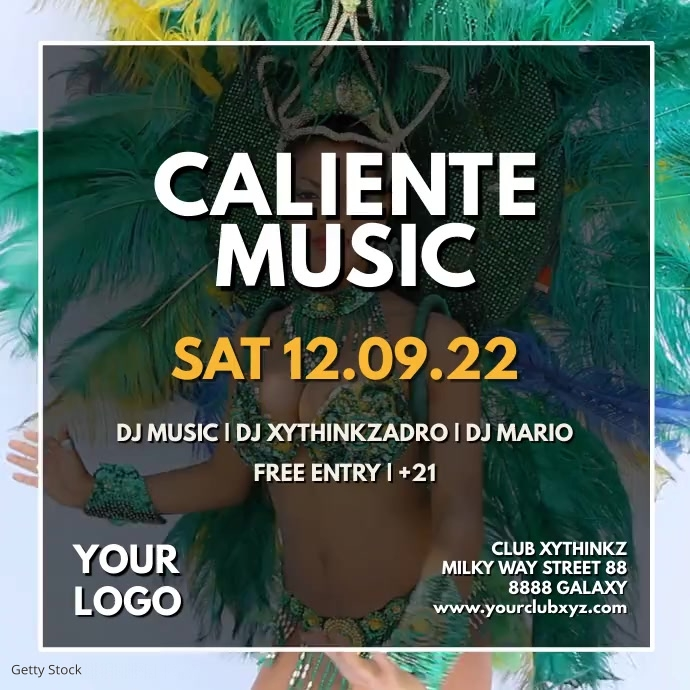 Caliente Music Event Dance Festival Video Ad