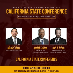 CALIFORNIA STATE CONFERENCE