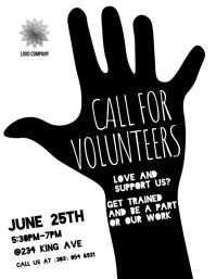 Call For Volunteers Flyer