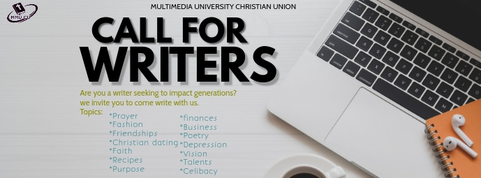 CALL FOR WRITERS รูปภาพหน้าปก Facebook template