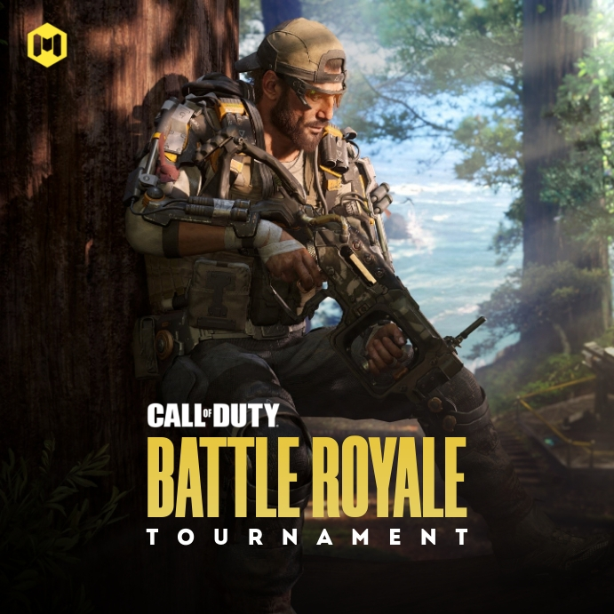 Call Of Duty Game Tournament Poster Template Postermywall