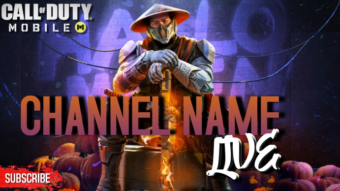 Call Of Duty Thumbnail Isithonjana se-YouTube template