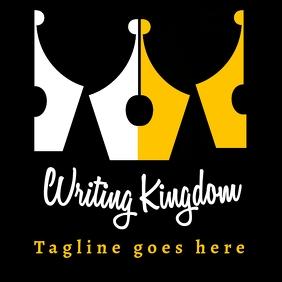 Calligraphy / fountain pen nib logo