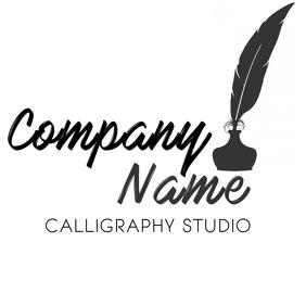 Calligraphy studio logo