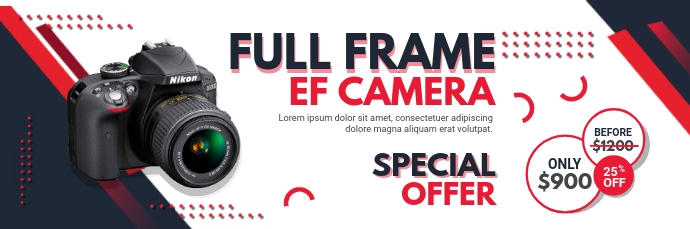 Camera and Electronics Special Sale Email Hea